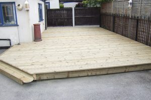 Image showing decking
