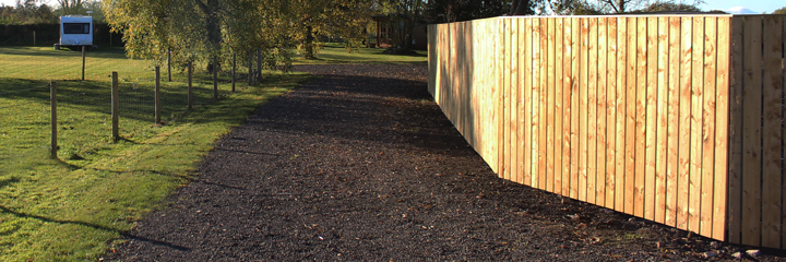 Fencing & Screening work carried out